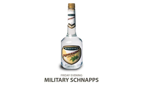Military Schnapps