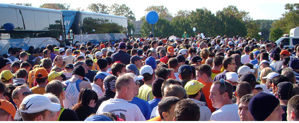 NYC Marathon: The final starting queue
