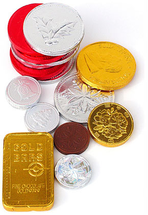 Yummy Chocolate Coins