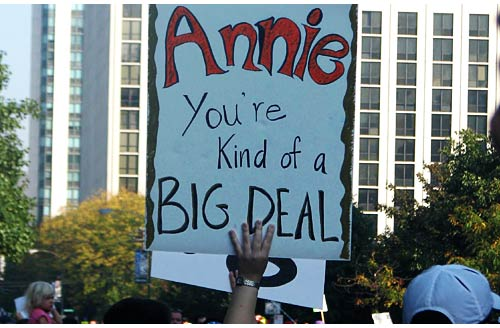 Annie, You\'re Kind of a Big Deal
