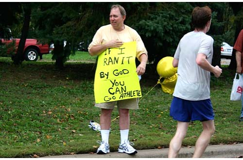 Funny Marathon Signs Maybe Marathoner