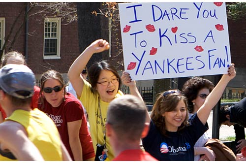 I Dare You to Kiss a Yankees Fan!